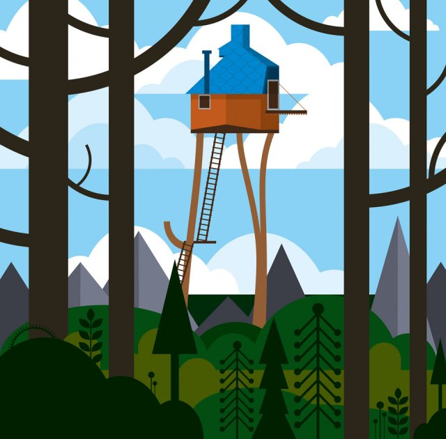 Tree Houses Fairy Tale Castles in The Air Tree Houses Fairy Tale