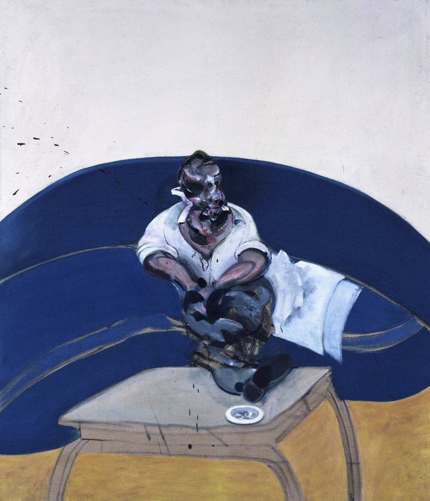 Francis Bacon study for self portrait-3