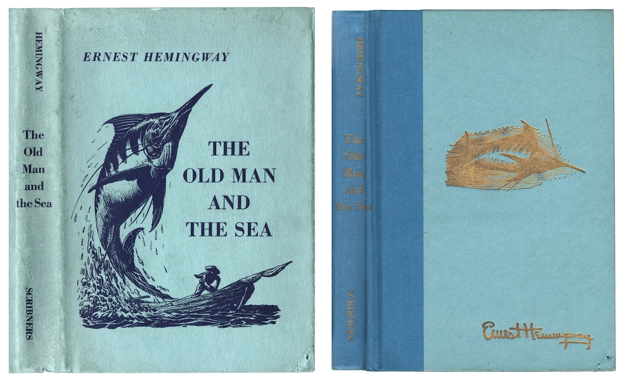 an analysis of the character santiago and his conflict in the old man and the sea by ernest hemingwa The old man and the sea-characters/character analysis by free study guide-the old man and the sea by ernest hemingway to santiago the old man.