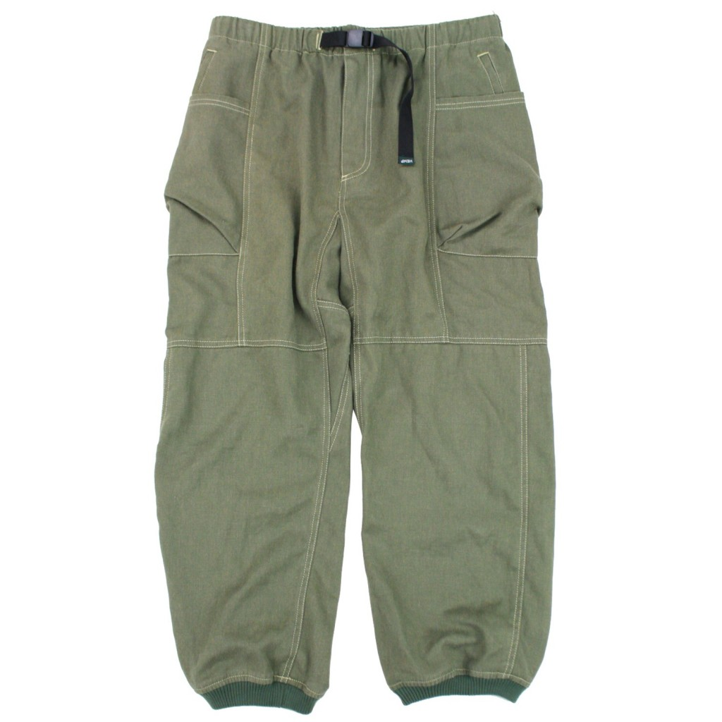 HEMP PET TACOMA PANTS SAGE (FRONT)