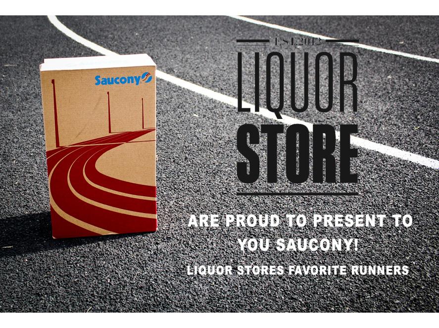 saucony advertise