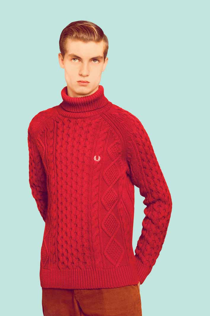 British Knitting Patterns : British Knitting Patterns- Fred Perry Authentic Menswear Proper Magazine