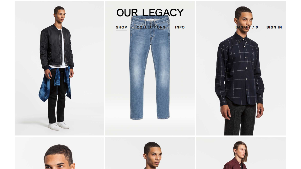 Our Legacy New Web 3