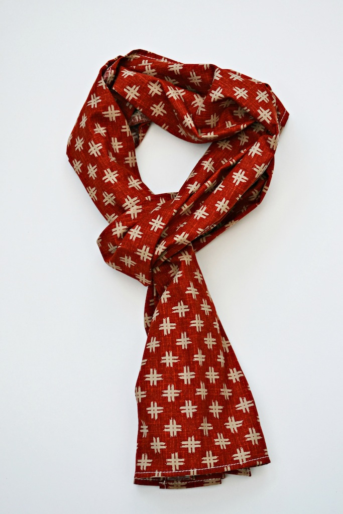 redcalico scarf