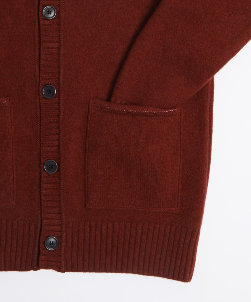 FELTEDCARDIGAN-RED-7266