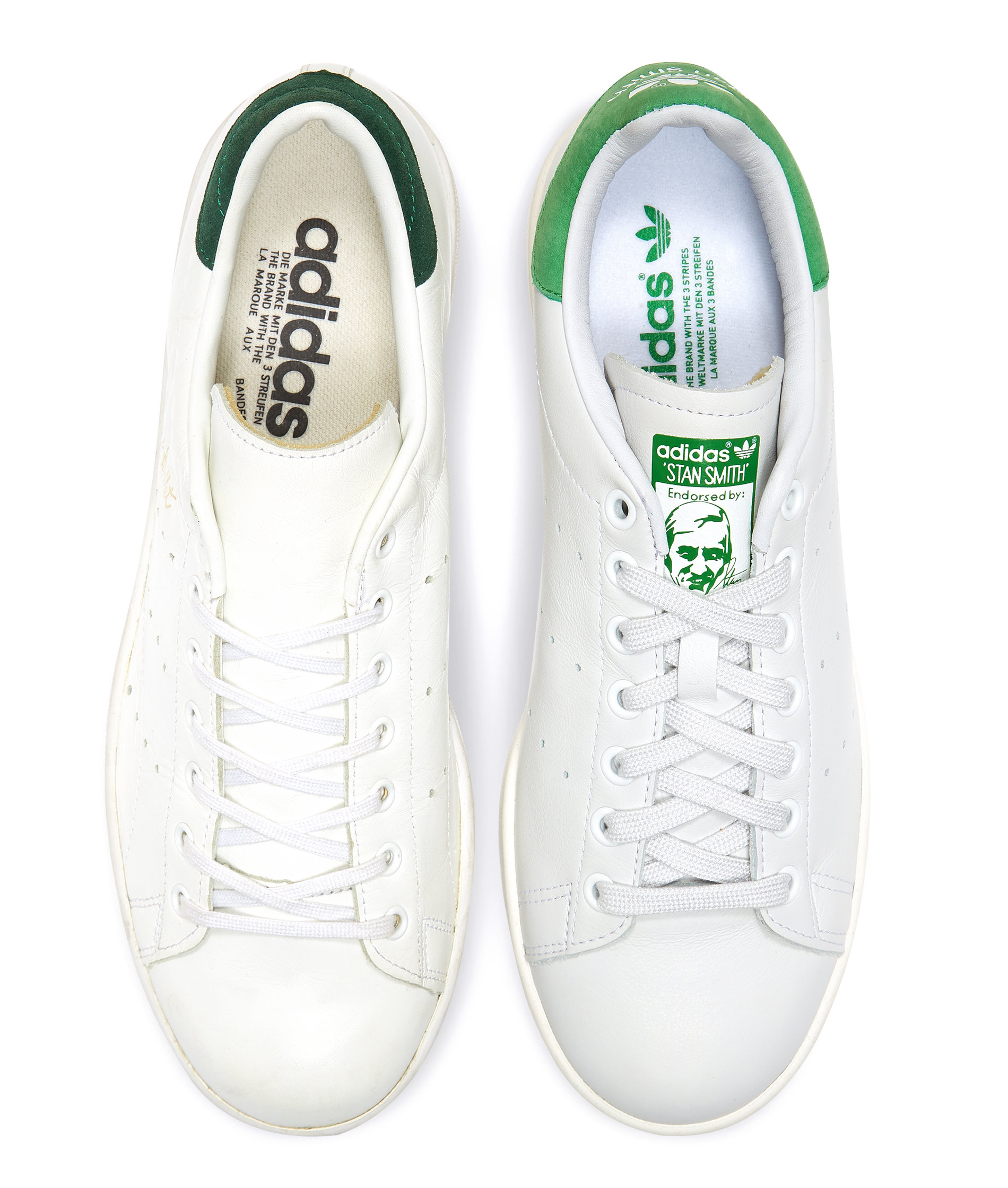 ... adidas advantage clean vs stan smith ...