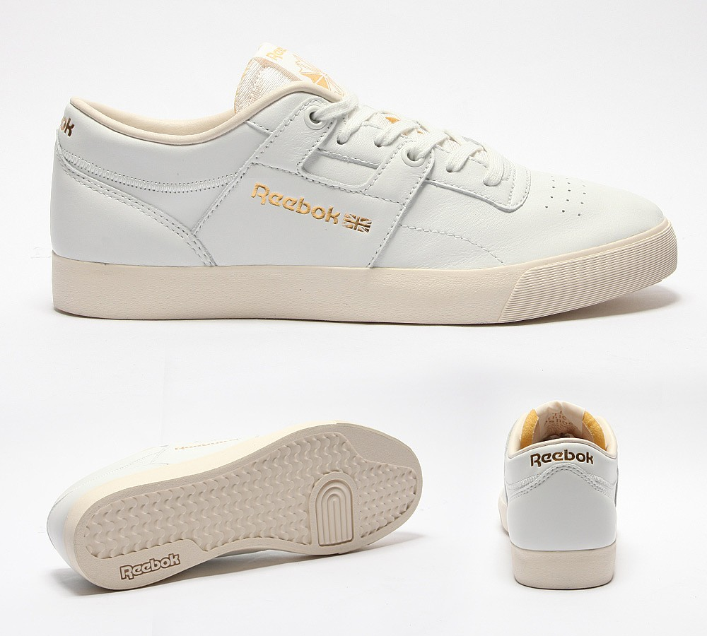 Palace Skateboards x Reebok Workout Low Clean FVS Pack Le
