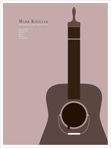 JasonMunn_MarkKozelek_Scandinavia_Poster