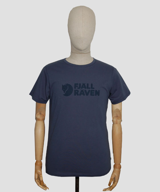 fjallraven-logo-t-shirt-blue