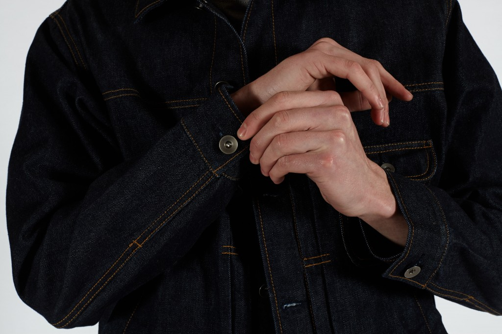 trucker cuff detail