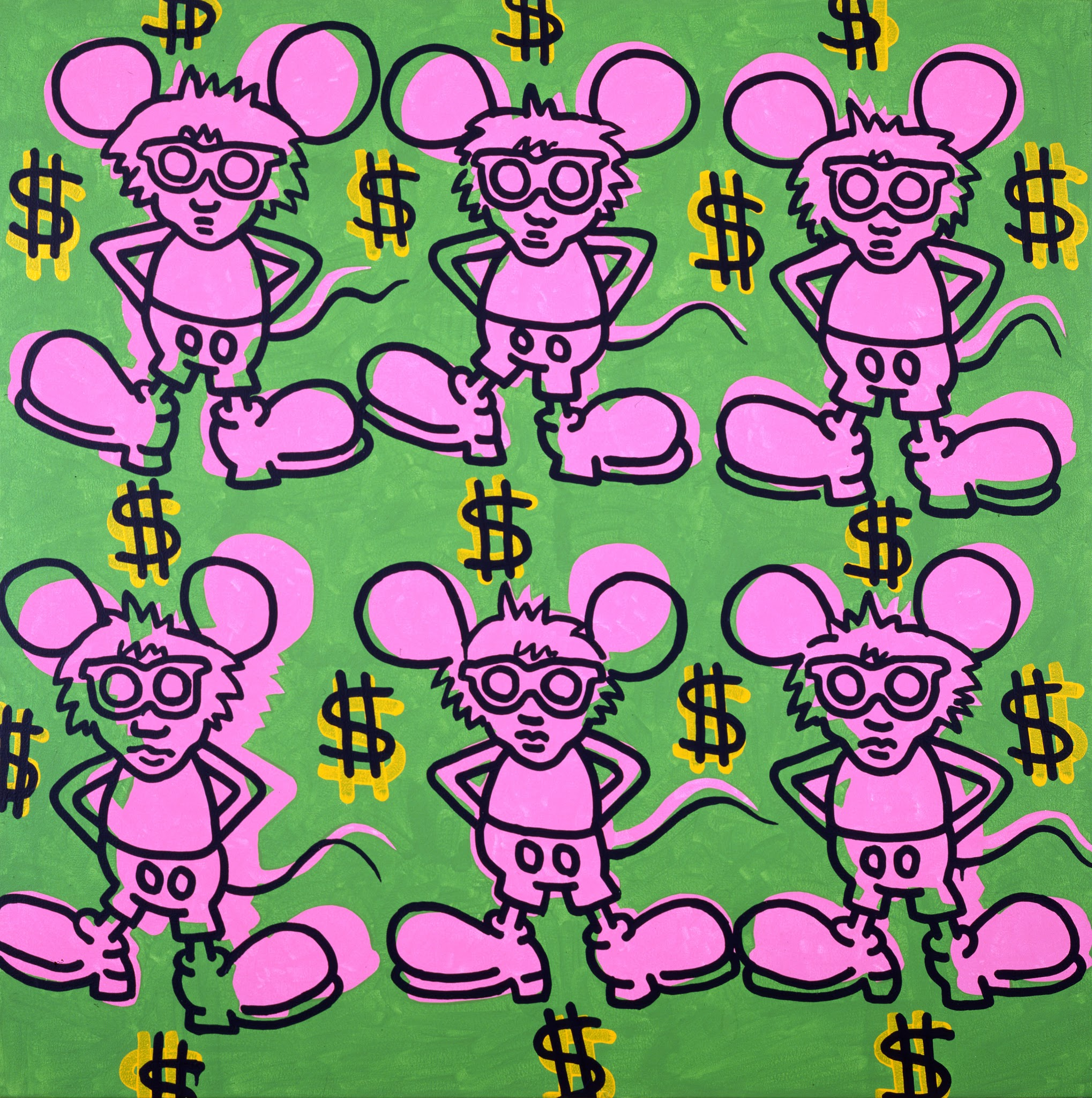 12. 130_Andy Mouse_1985_private collection_KHF