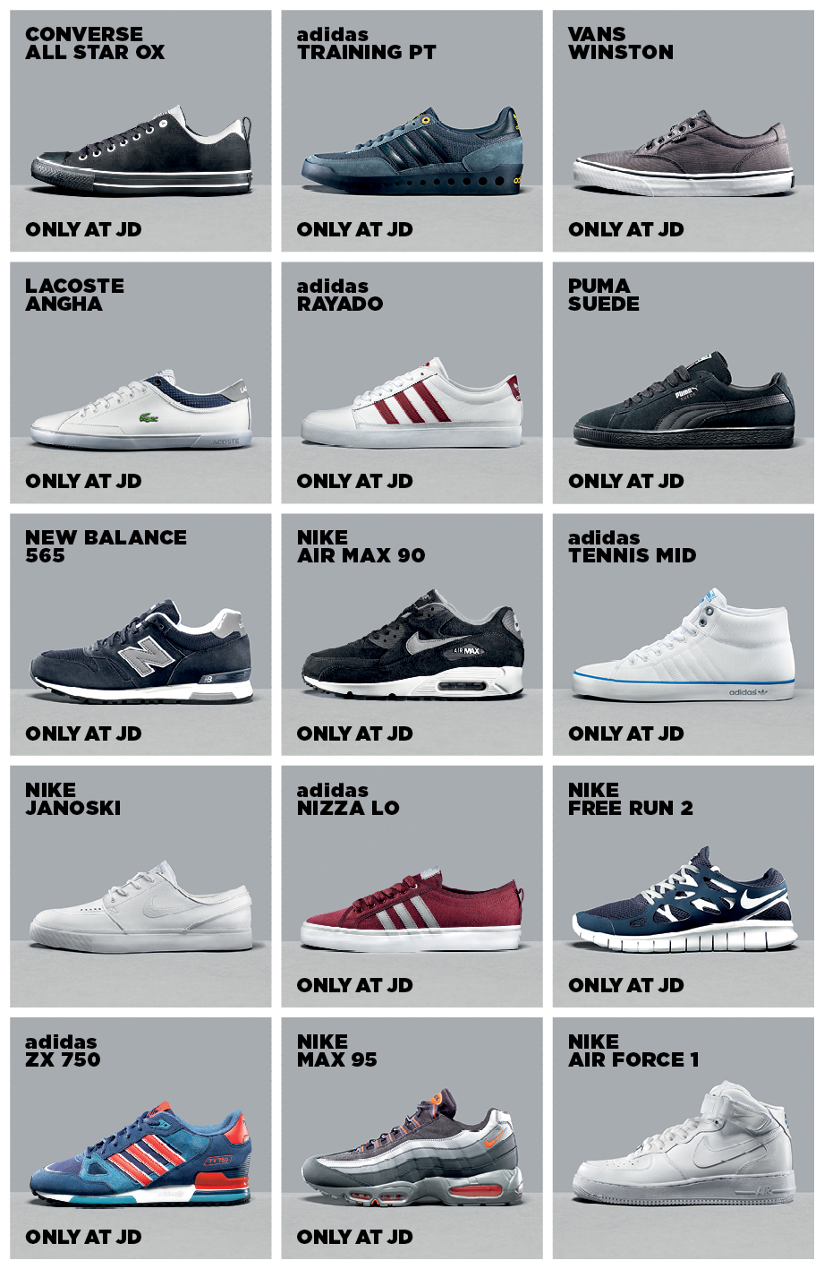JD King of Trainers AW14 - Proper Magazine