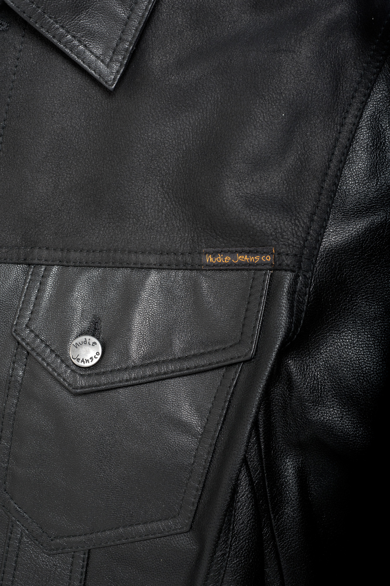 Perry Leather _ Crust Jkt Black 160339 02