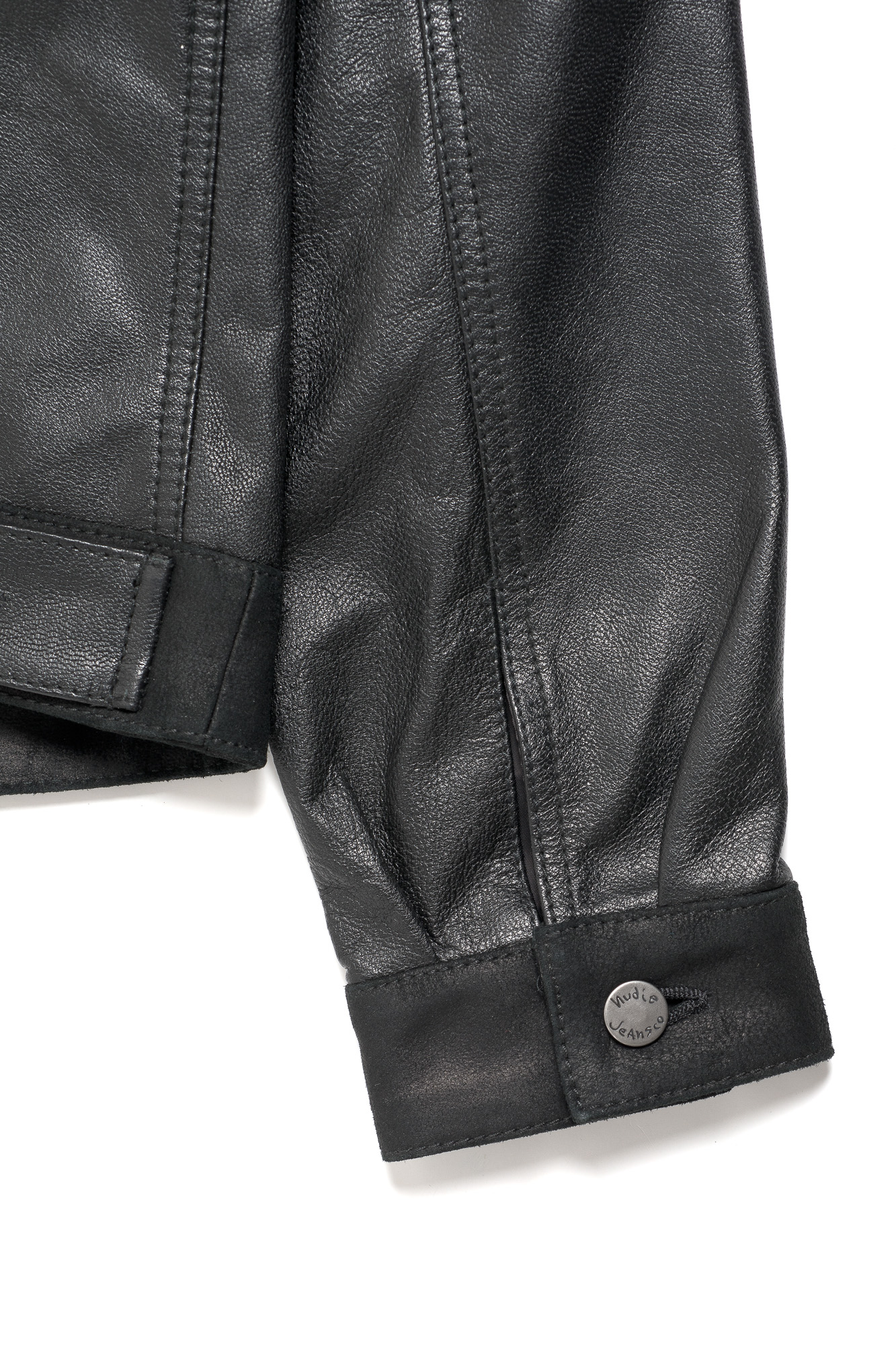 Perry Leather _ Crust Jkt Black 160339 13