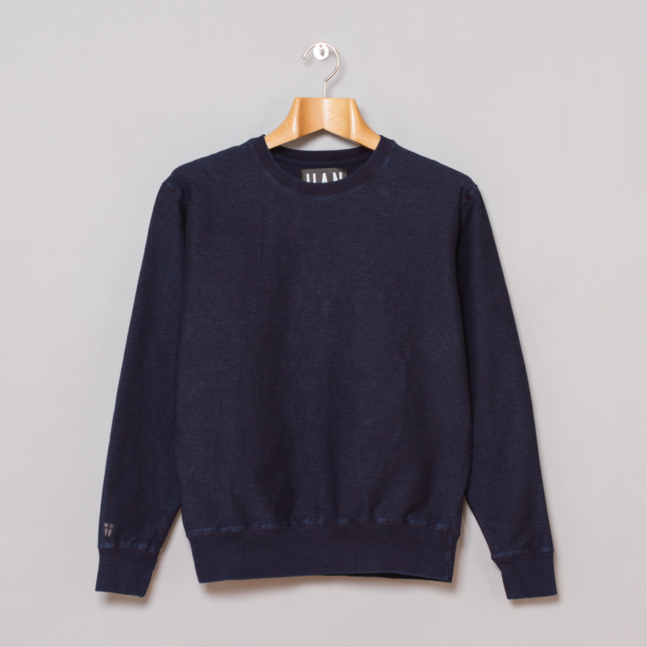 navy sweat