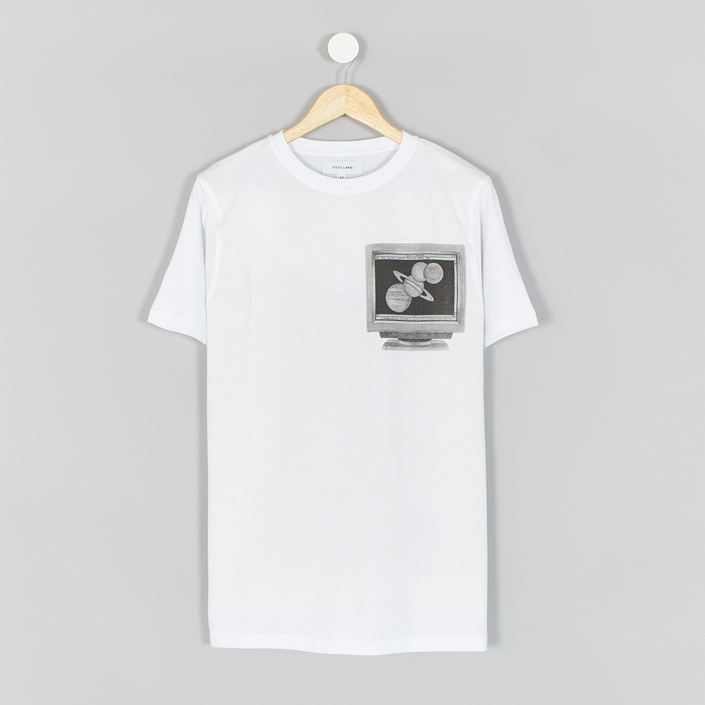 Soulland-Planets-Tee-White