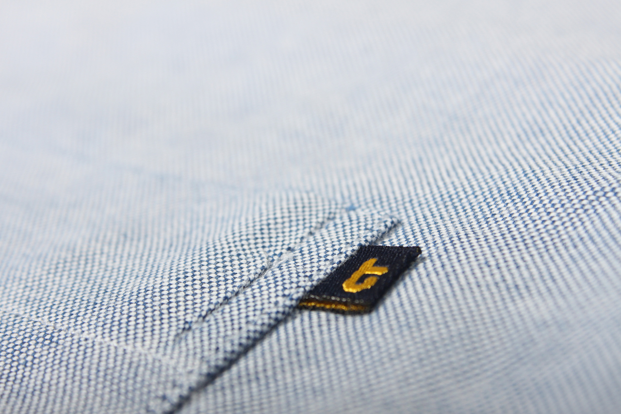 Blue Pocket Detail