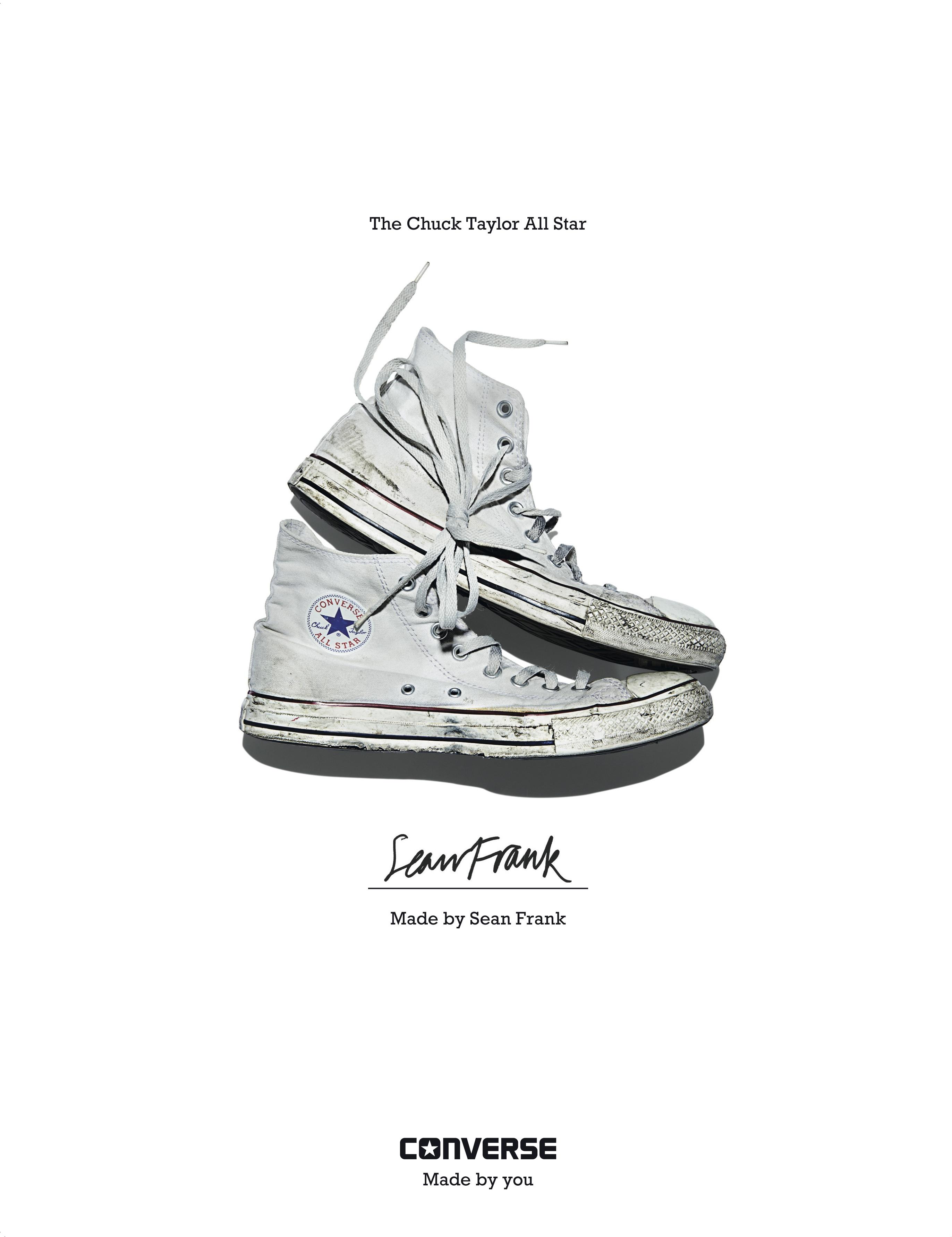 Sean Frank - Converse Sneaker Portrait