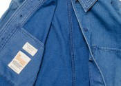 Julius Organic Normal Collar Indigo 160373B21 detail 05