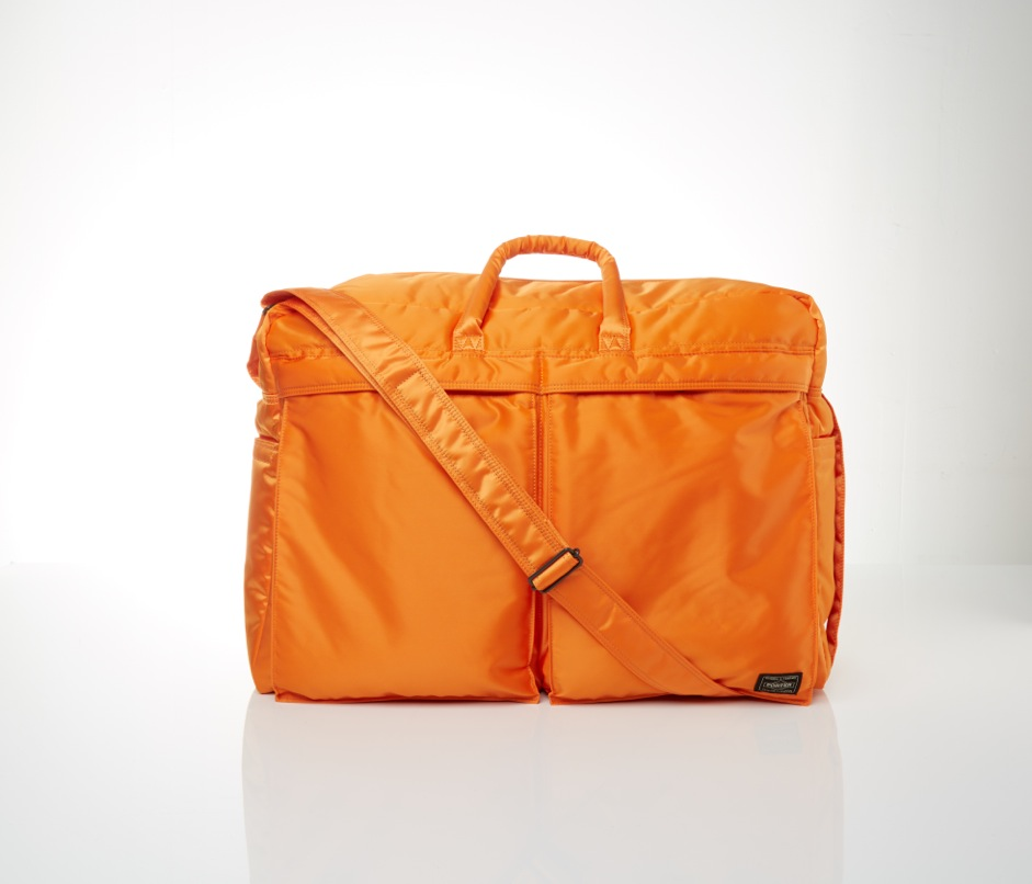 Porter-Yoshida & Co. Tanker 2Way Duffle Bag - Indian Orange 01