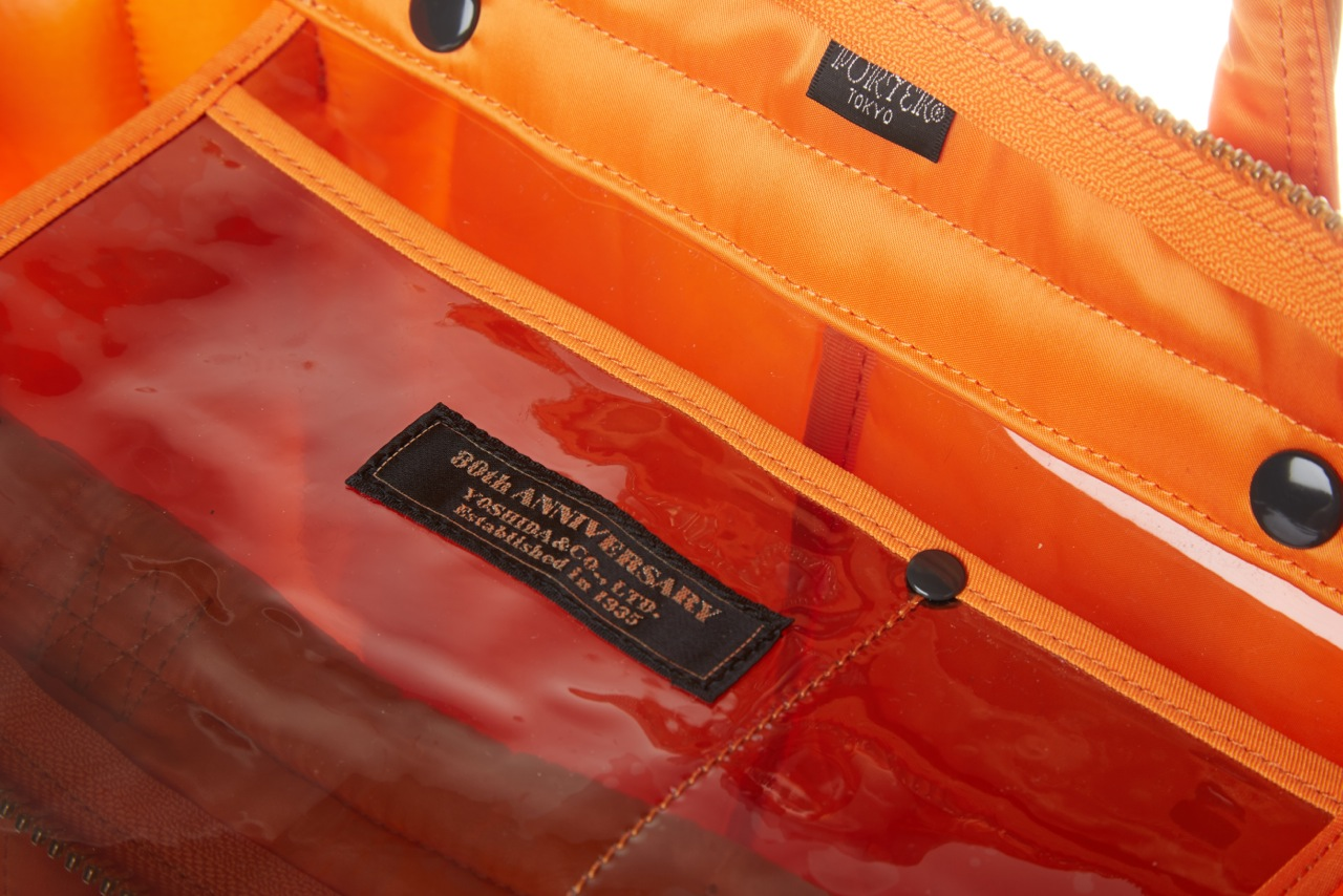 Porter-Yoshida & Co. Tanker 2Way Helmet Tote - Indian Orange 17
