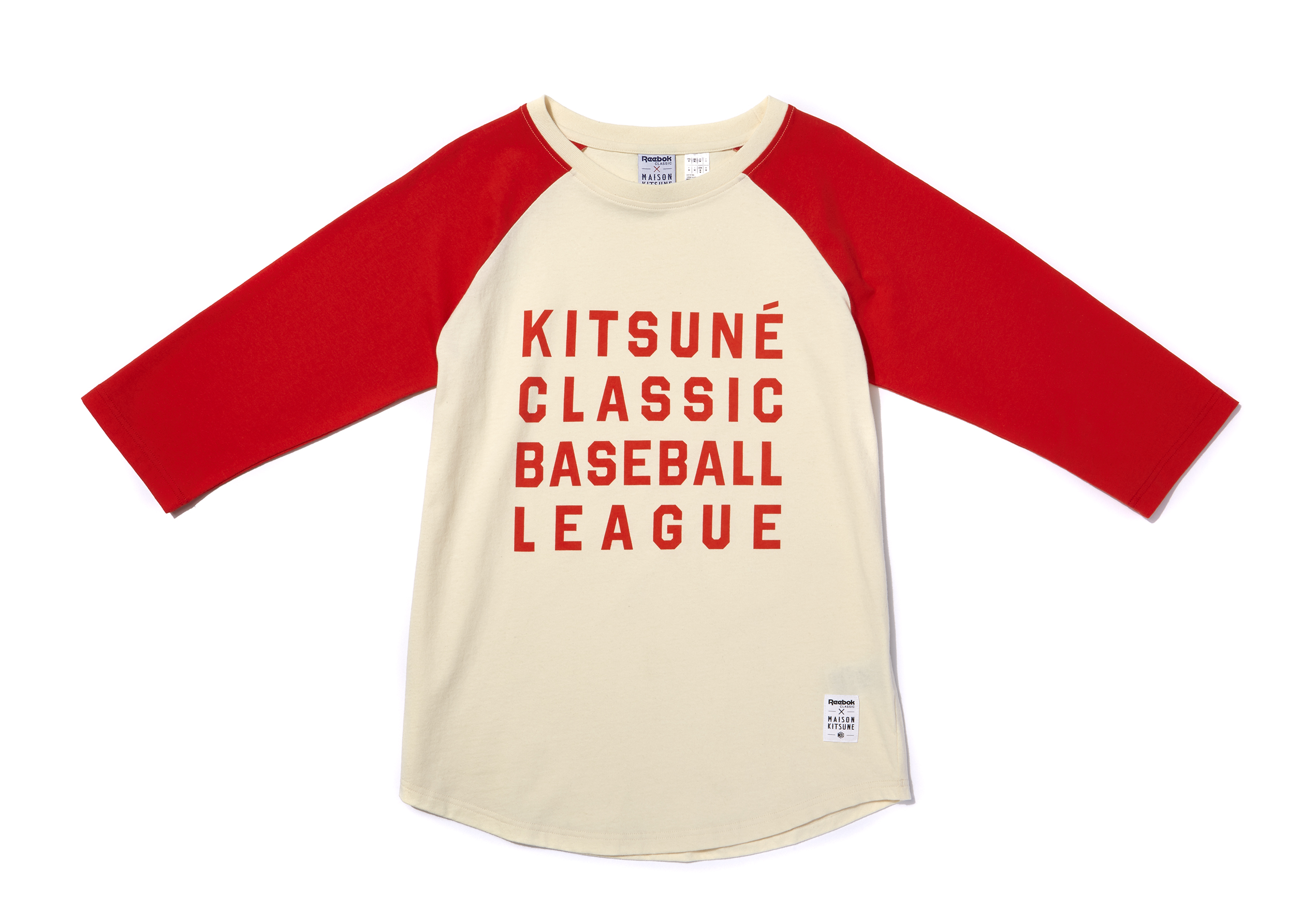 KITSUNE BASEBALL SHIRT