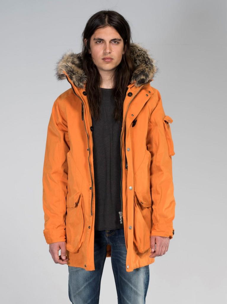 Adrian Parka Orange Model