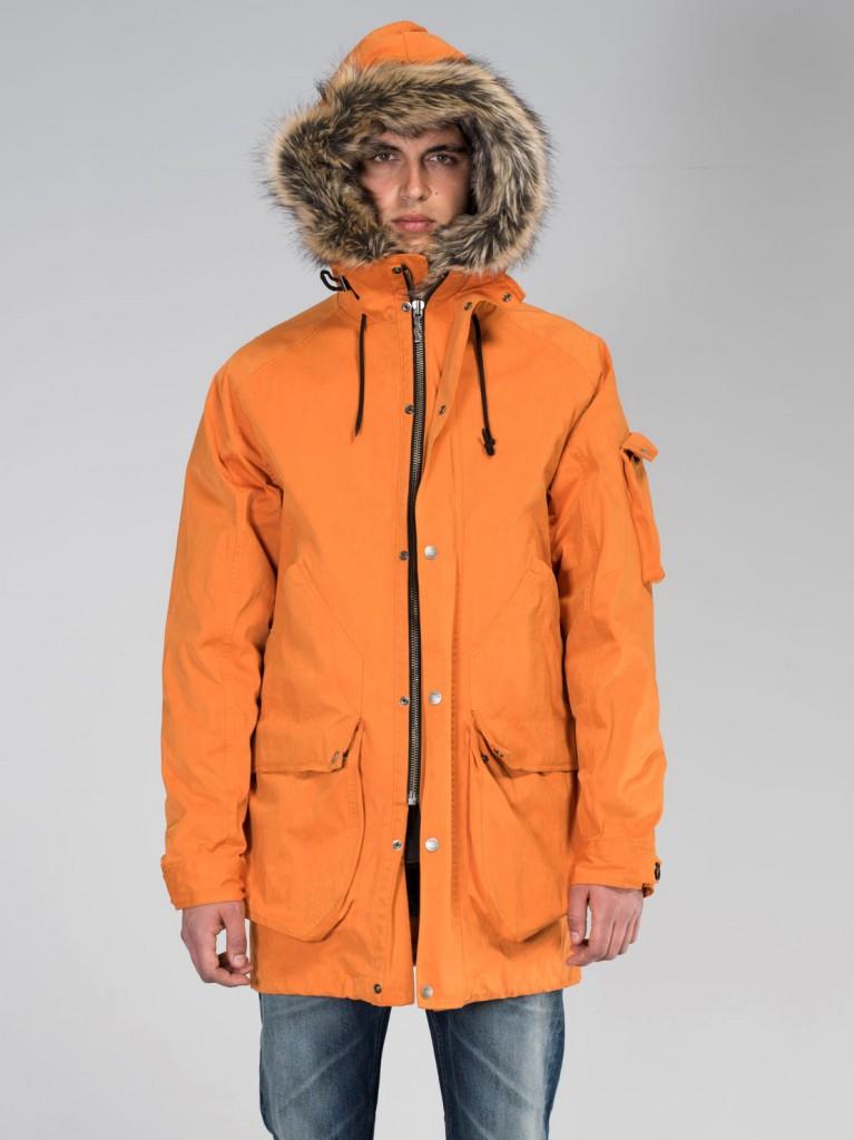 Adrian Parka Orange Model1