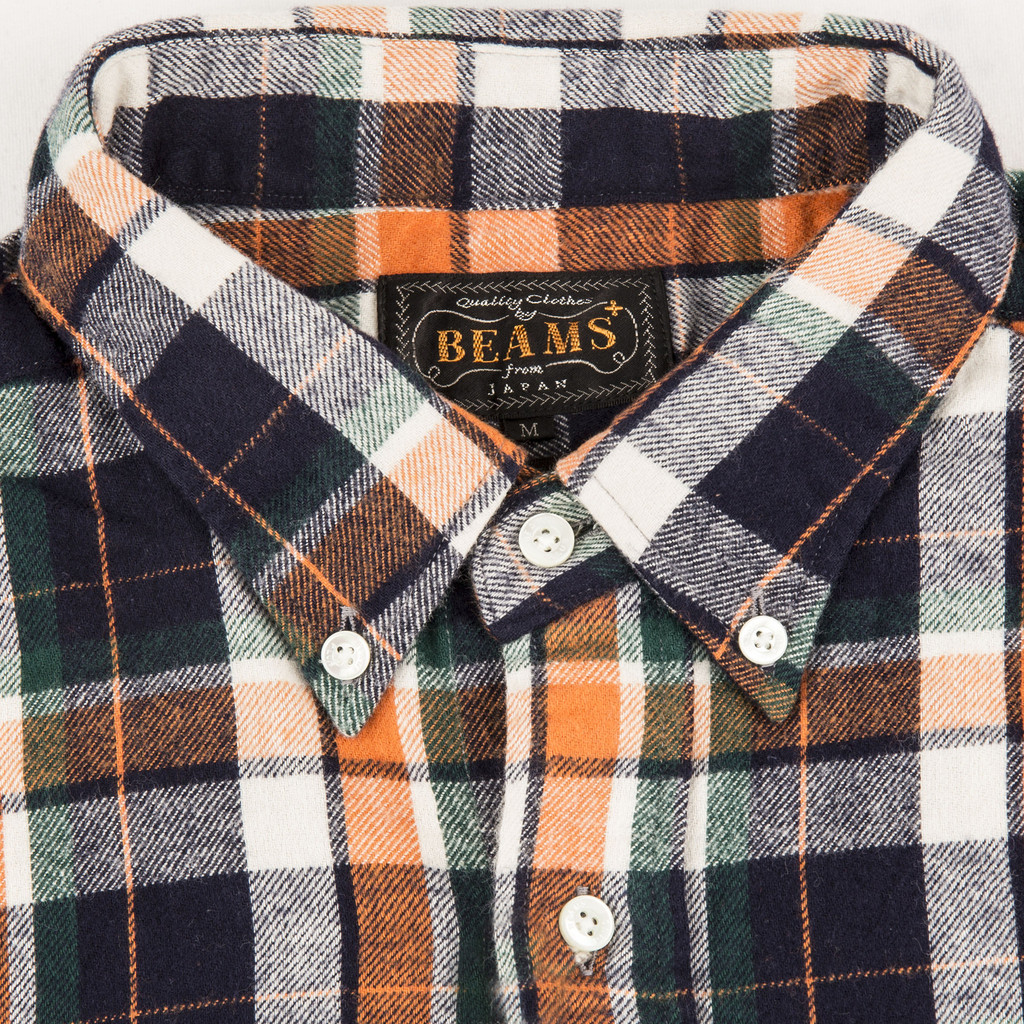 BEMS_PLUS_BRUSHED_VIYELLA_BUTTON_DOWN_SHIRT_ORANGE_DETAIL2_1024x1024