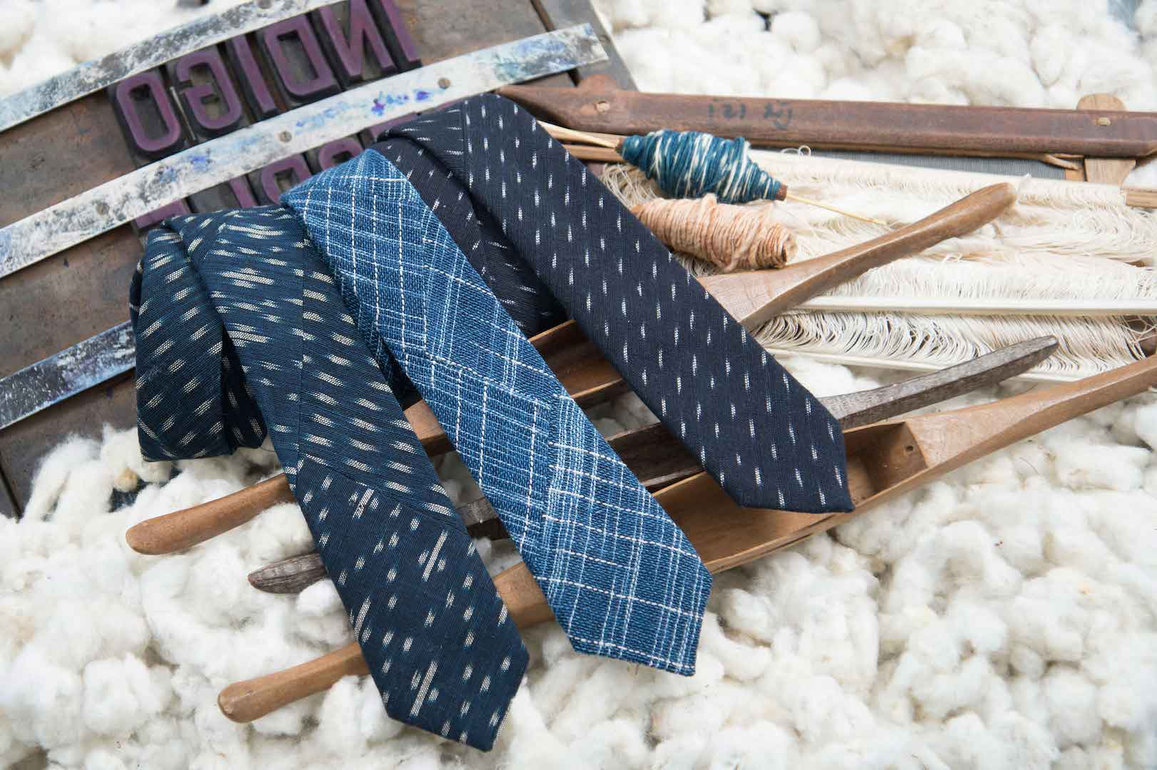 IndigoPeople_Spring_2016_Indigo_Ikat_Ties_Collection_1