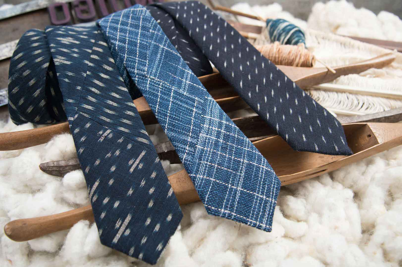 IndigoPeople_Spring_2016_Indigo_Ikat_Ties_Collection_2