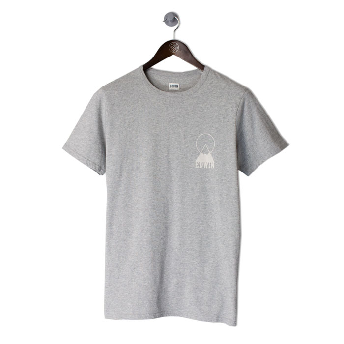 EDWIN-Fuji-Logo-Tee-Grey-Marlfront