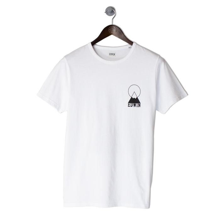 EDWIN-Fuji-Logo-Tee-Whitefront