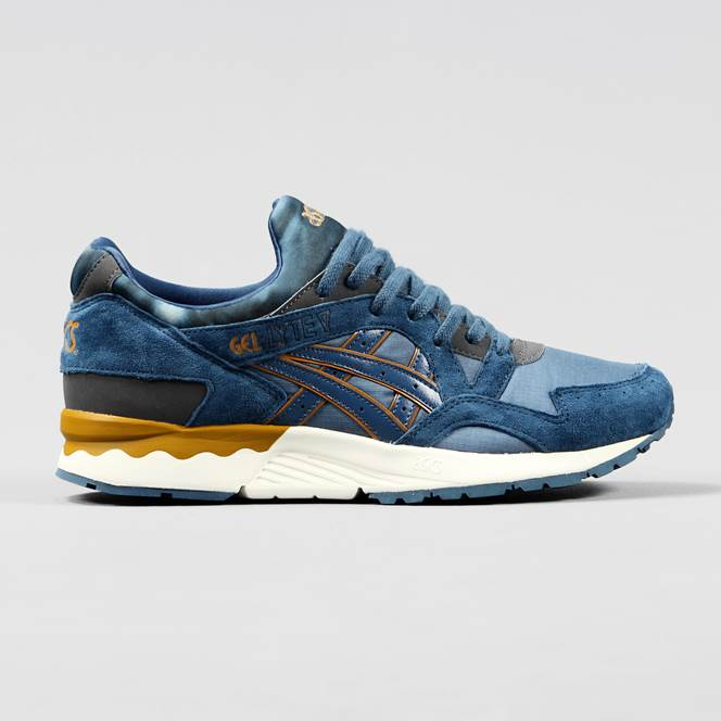 asics gel lyte v blue yellow