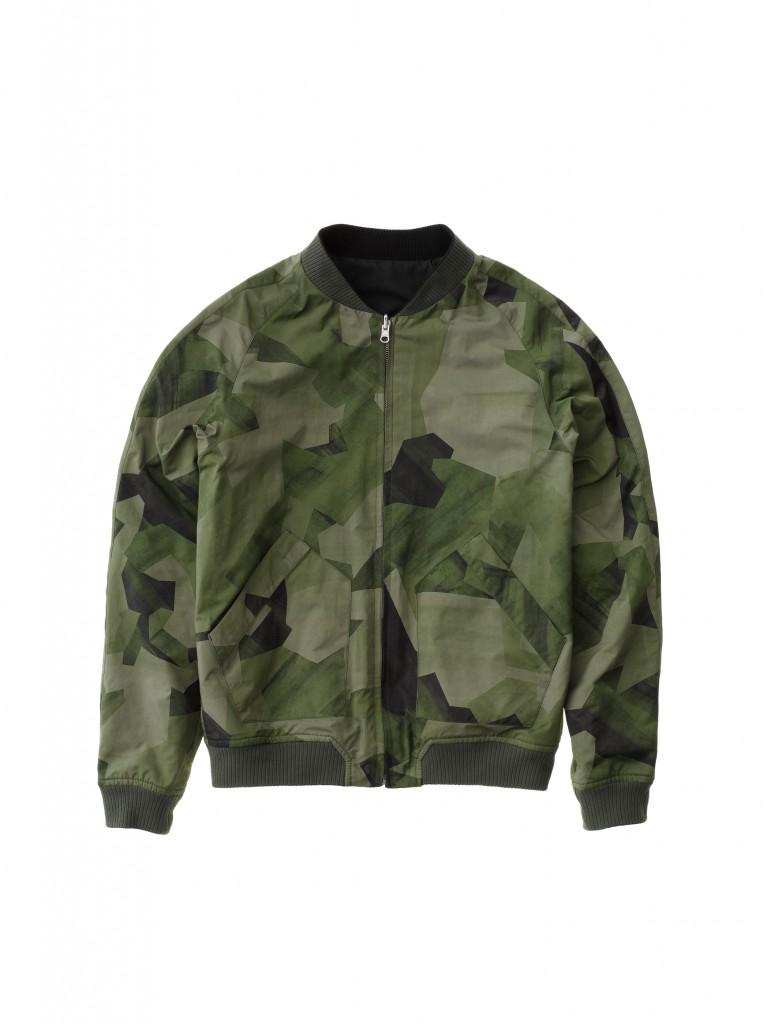 Brook Jacket Black And Camo Black 160433B01.b