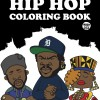 Evolution Of The BBoy Hip Hop Coloring Book COVER New