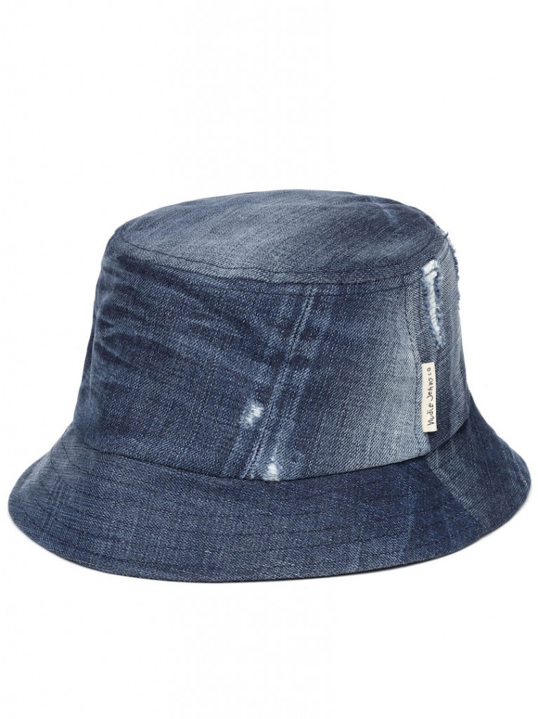 Math Bucket Hat Denim 180621B26 03