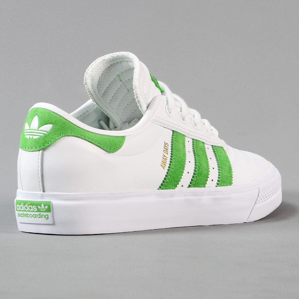 Adidas Adi Ease Premiere Away Days Shoes White Green Gum