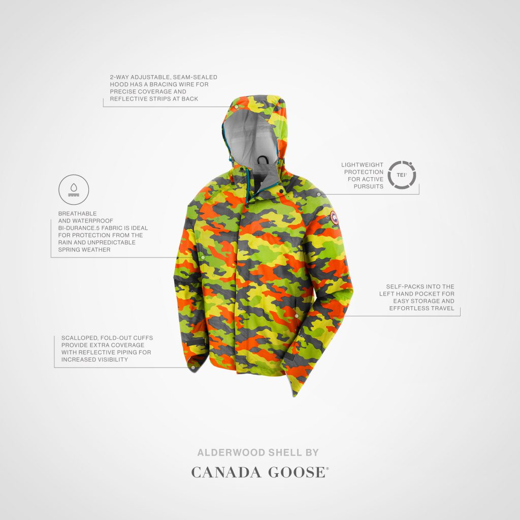 canada goose waterproof jackets