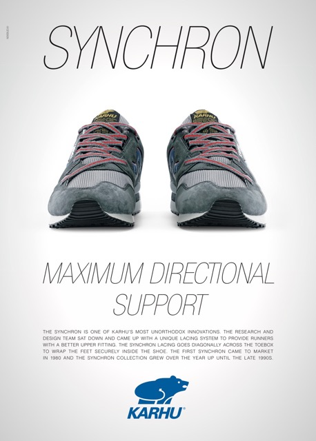 Karhu Synchron Poster