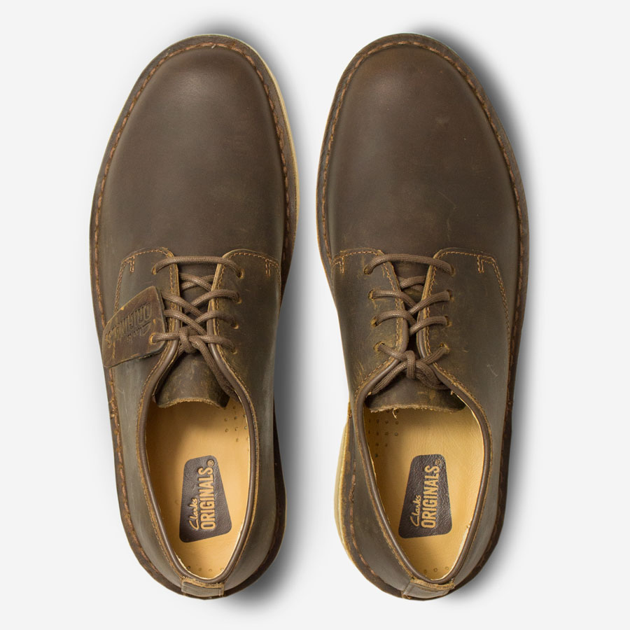 CLARKS-ORIGINALS-Desert-London-Beeswax-Leathertop