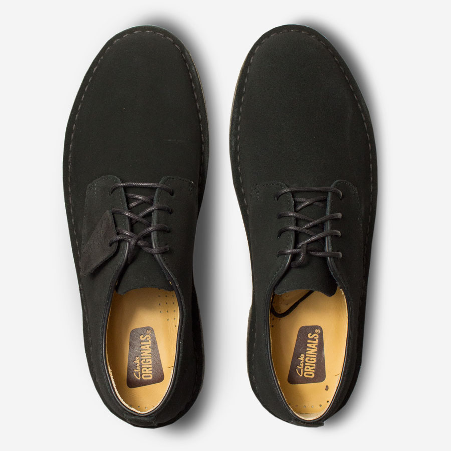 CLARKS-ORIGINALS-Desert-London-Black-Suedetop