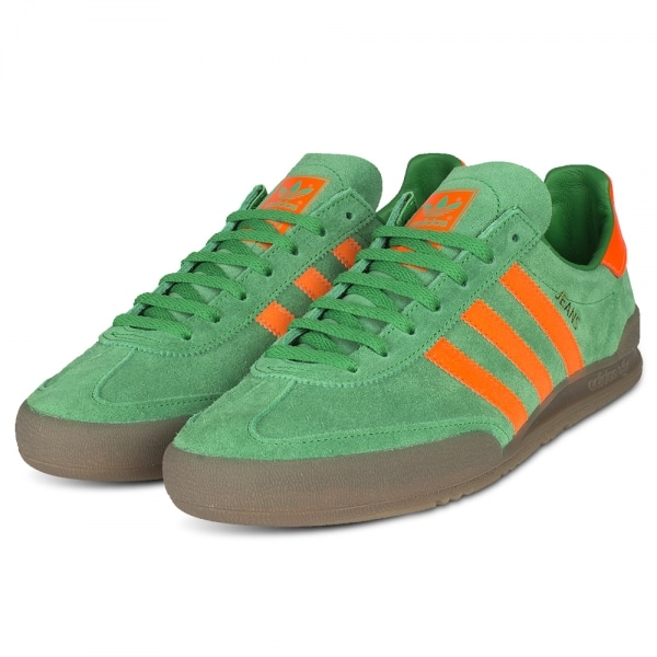 adidas green and orange trainers
