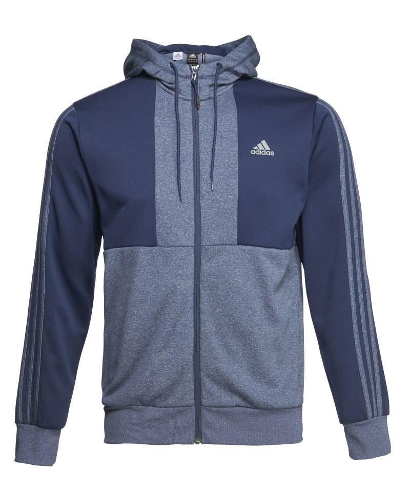 www.jdsports.co.uk adidas Reflex Hoody £55 Heather Blue £55 August