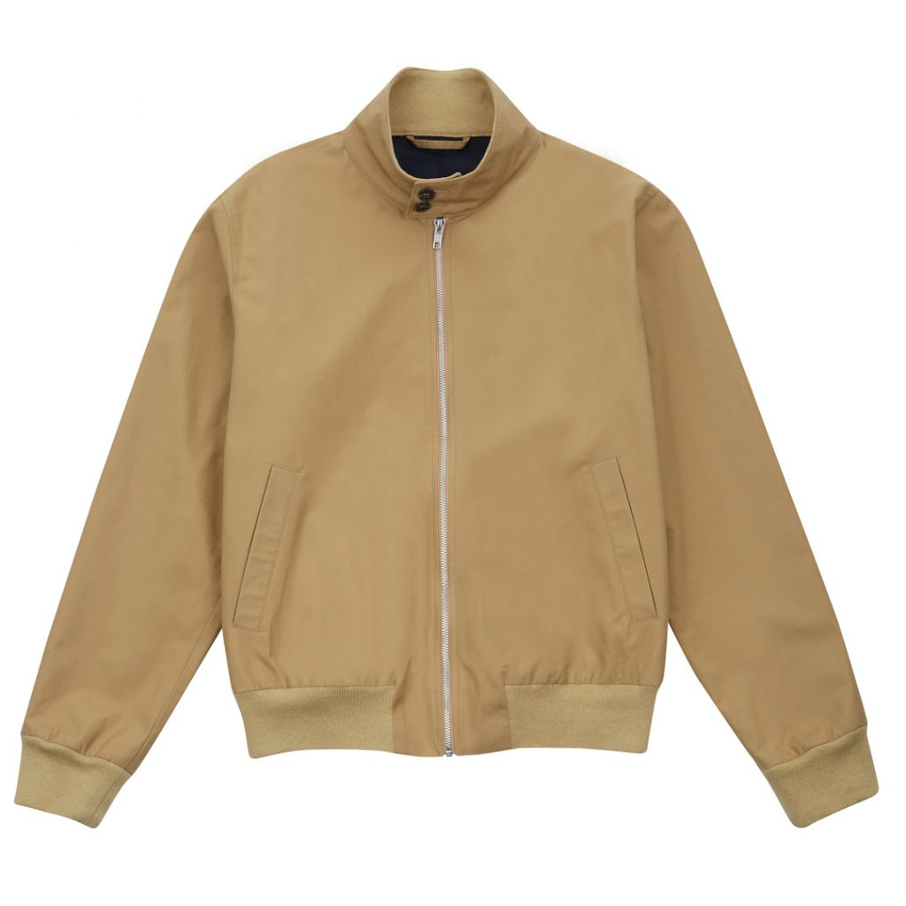 KHAKI HARRINGTON JACKET_FFR