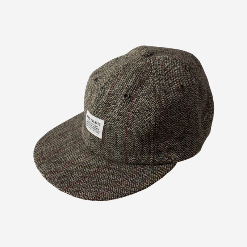 NORSE-PROJECTS-Tweed-Flat-Cap-Charcoal-Grey3-800x800