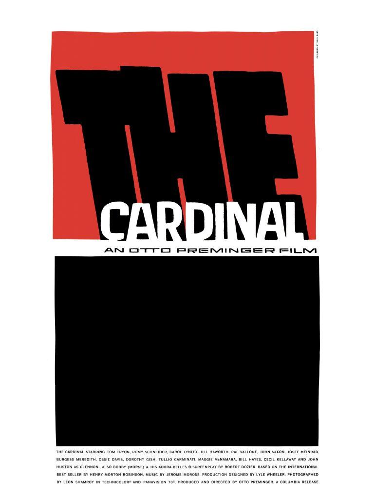 Saul Bass The Cardinal