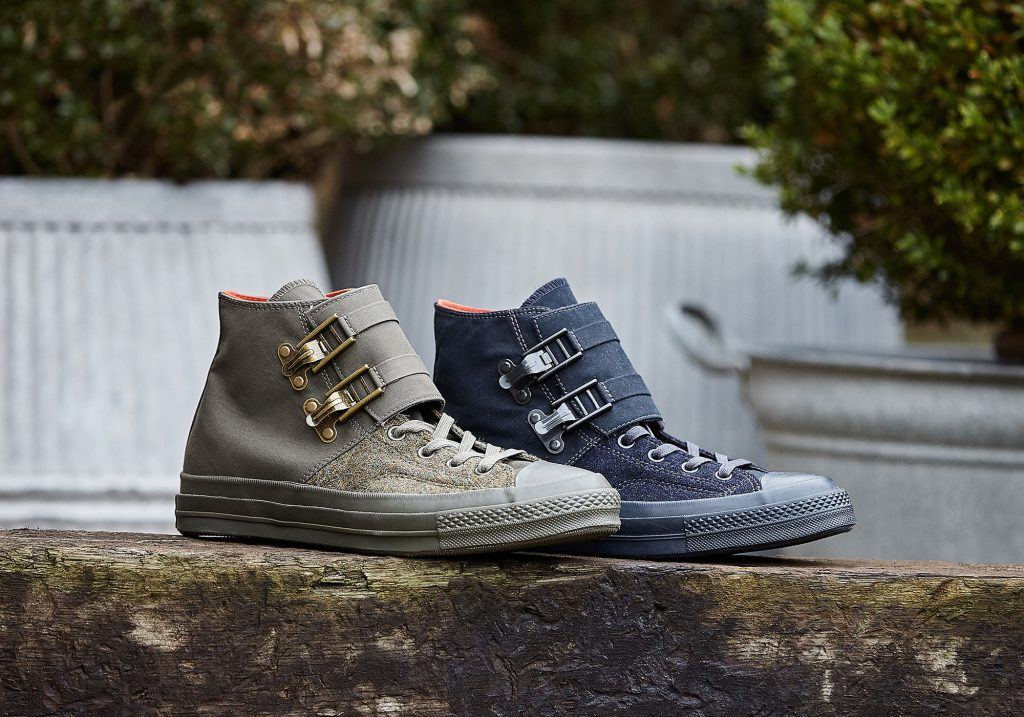 1fcafda43aa4c2 nc-camerman-converse-lr. For his latest collaboration with Converse it  looks like Nigel Cabourn has taken a couple of pairs of 1970s Chuck Taylor  All Stars ...