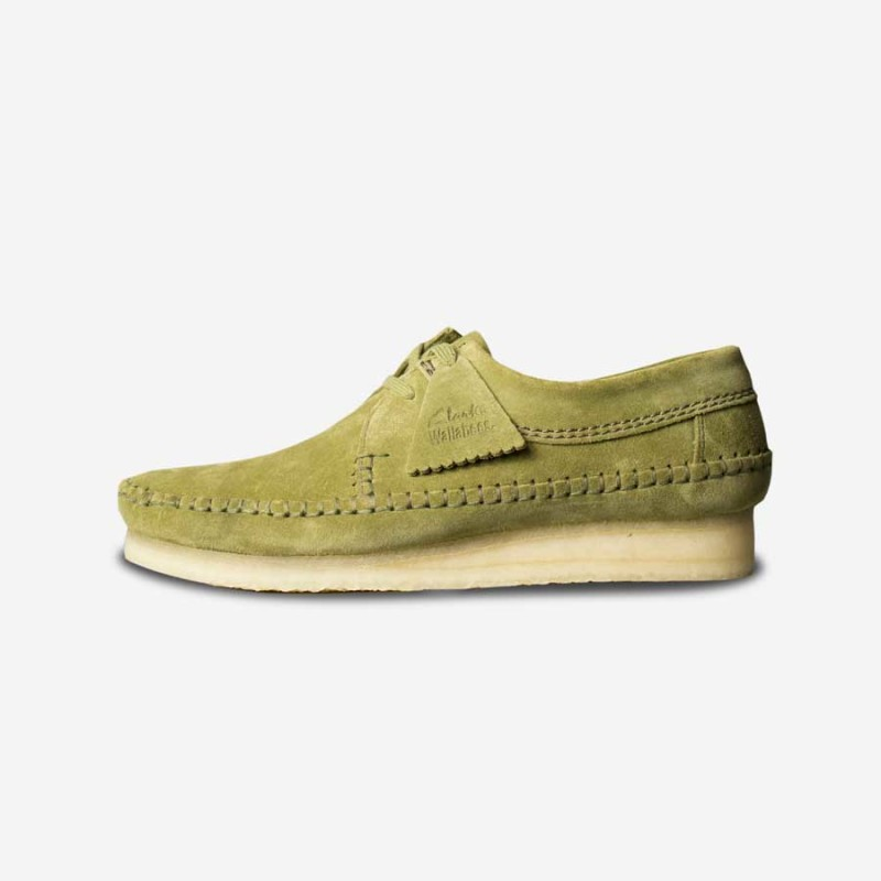 clarks-originals-weaver-forest-green-suede1-800x800