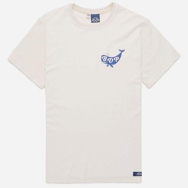 Bleu de paname whale logo t shirt proper magazine for Whale emblem on shirt
